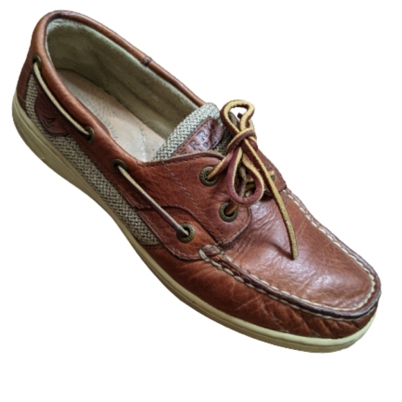 Sperry Top-Sider Leather Boat Shoes 7.5